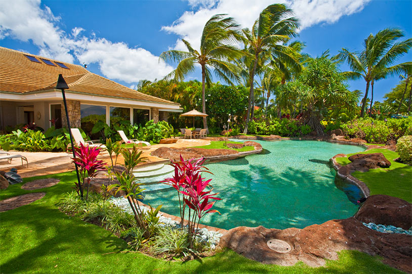 maui sea shells beach house