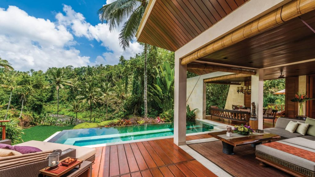 Four Season Luxury Resort Ubud Bali Indonesia