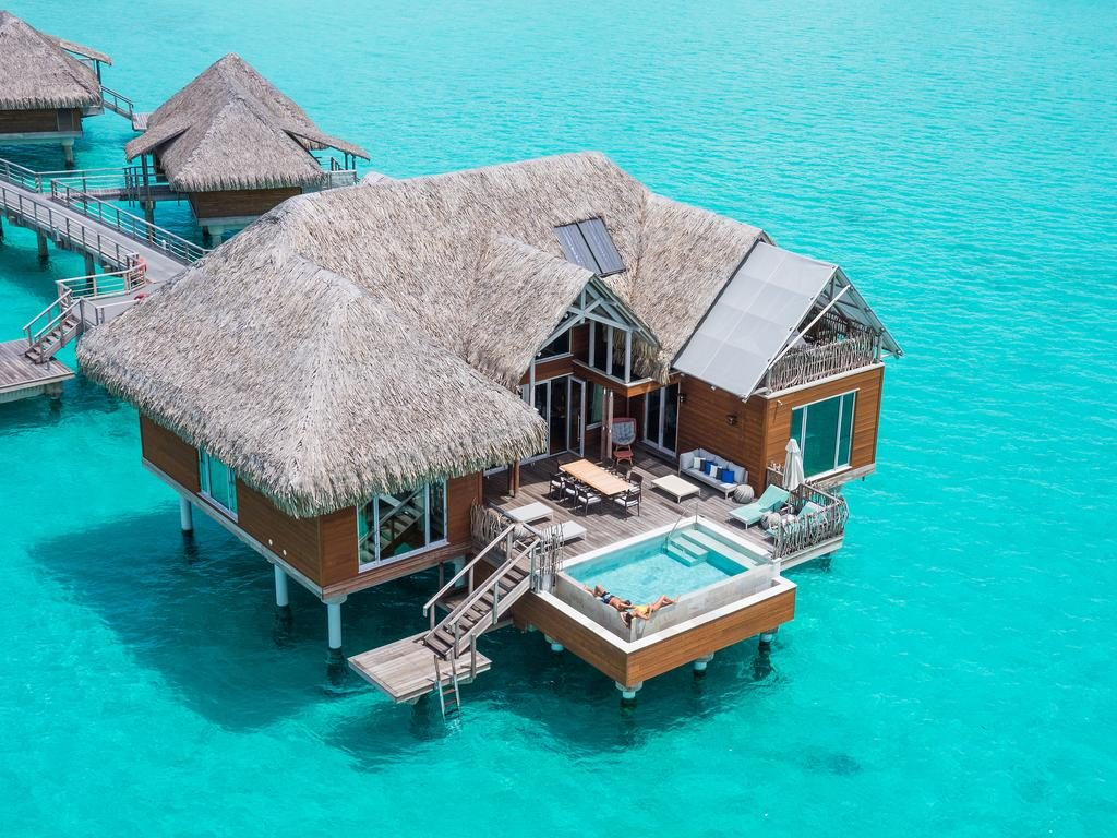 Intercontinental Bora Bora Resort and Thalasso Spa bungalow