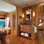 The Four Seasons Resort Bora Bora bathroom