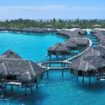 Beautiful over water bungalows