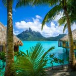 Over water Bungalows Bora Bora french Polynesia