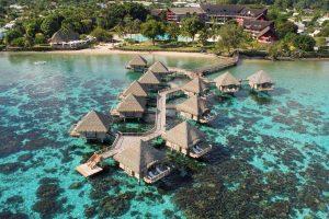 3 Stunning Water Bungalows Tahiti
