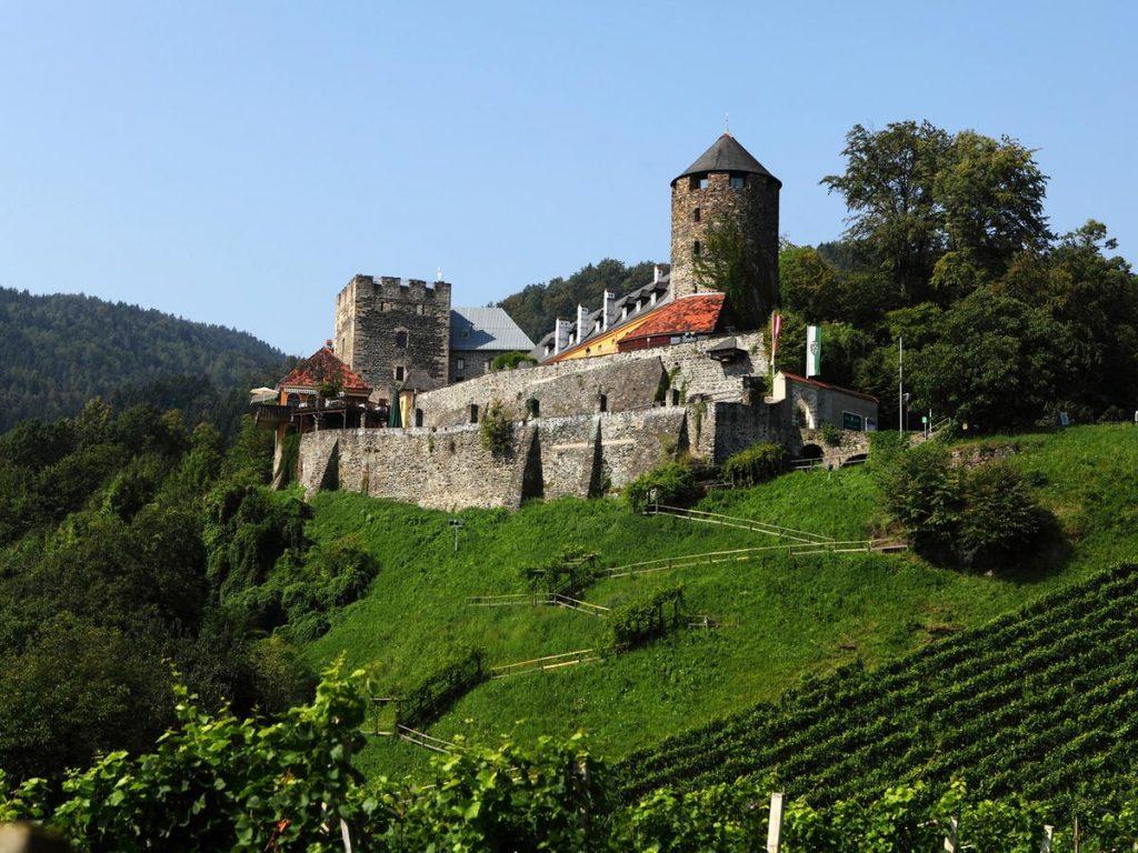 burg deutschlandsberg castle hotel Austria